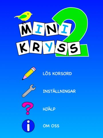 Minikryss 2
