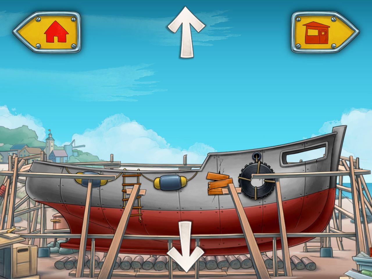 mulle meck bygger båtar
